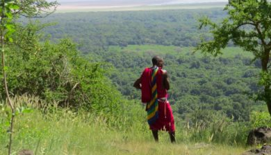 Yamat overlooking Lake Manyara
